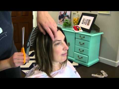 Kendra's Chemo Haircut Phase 1