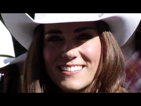 Participation in the Calgary Stampede - The Duke and Duchess (Prince William and Kate)