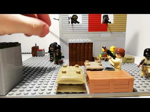Лего самоделка #38 освобождение склада