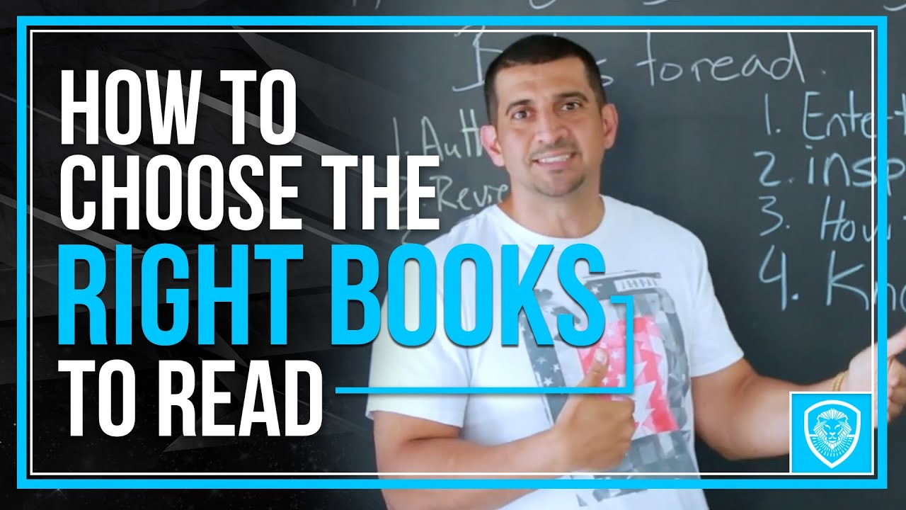 How to Choose the Right Books to Read