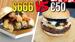 Come MANGIARE un HAMBURGER da 666 DOLLARI con 50 EURO! | CUCINA da RICCHI per POVERI