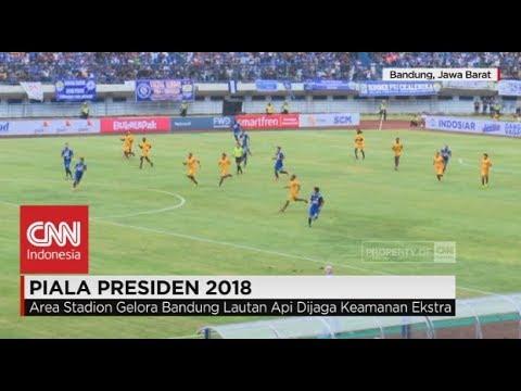 Live Report: Persib vs Sriwijaya, 1-0; Pembukaan Piala Presiden 2018