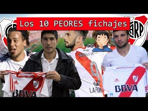 Los 10 peores fichajes de River Plate en toda su historia 🤦♂️