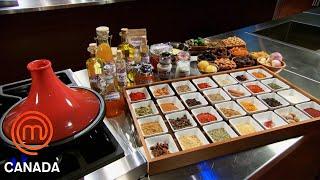 Moroccan-Inspired Vegetable Tajine Pressure Test   MasterChef Canada   MasterChef World