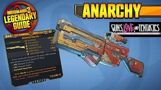 BORDERLANDS 3 | ANARCHY - Legendary Weapons Guide!!! Guns, Love u0026 Tentacles DLC