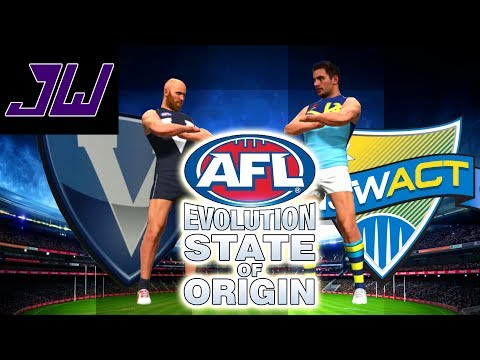 Absolute DOMINATION! VIC vs NSW! AFL State Of Origin TOURNAMENT GAME 1 | AFL Evolution | Episode 14