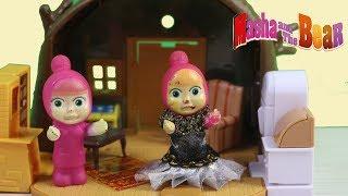 Maşa ile Koca Ayı Maşa Oyuncak Bebek Cadı mı Oluyor Masha Masalı