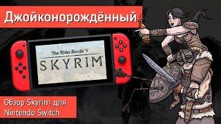 Обзор Skyrim на Nintendo Switch - ДЖОЙКОНОРОЖДЁННЫЙ