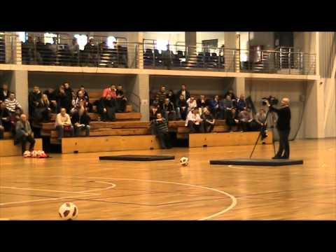 Conference for coaches (Gdansk, Poland) goalkeepers training with Marek Dragosz