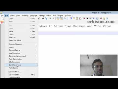 How to Convert Windows to Linux Line Endings and Vice Versa - YouTube