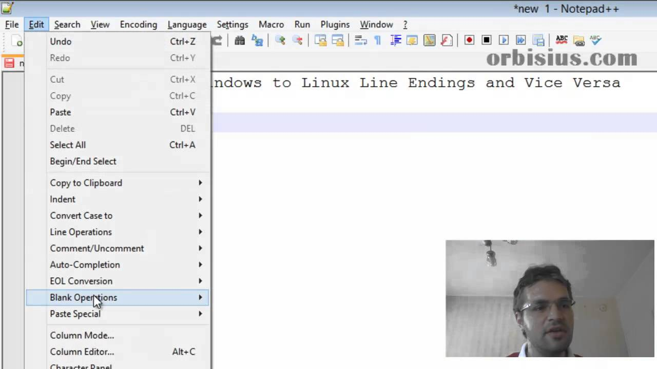 How to Convert Windows to Linux Line Endings and Vice Versa