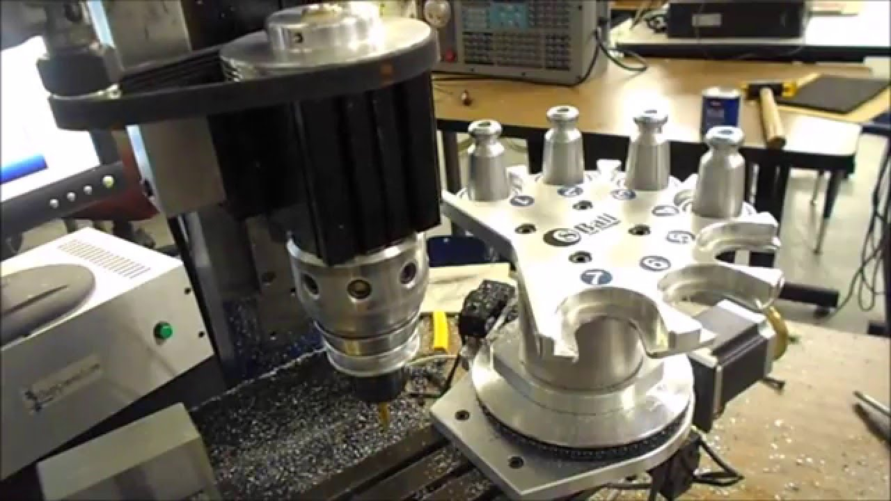 Cnc Atc Tool Changer For The Taig Cnc Mill Final