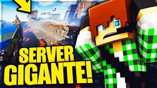 TOUR DI UN SERVER ENORME DI MINECRAFT VANILLA - RED CRAFT