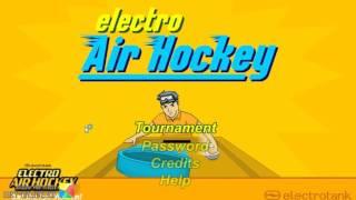 игра Электро аэрохоккей онлайн