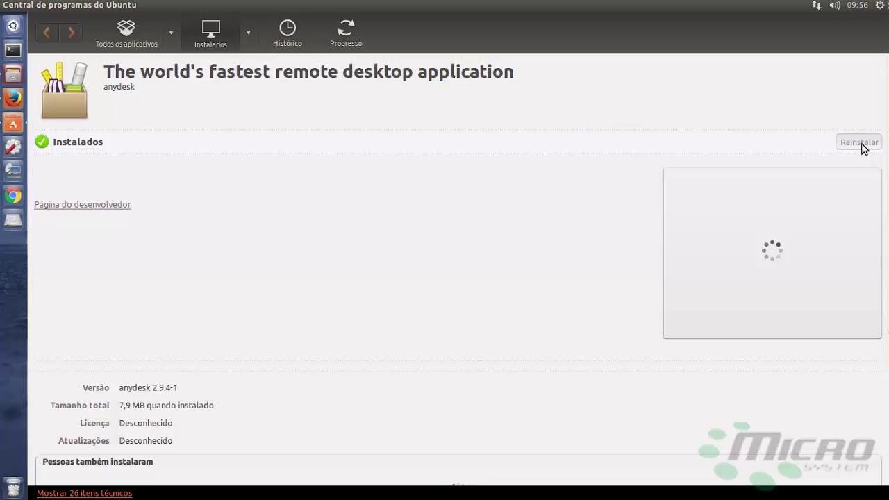 Instalando Anydesk no Ubuntu