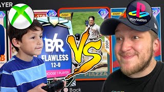 i played my FIRST BATTLE ROYALE GAME against an XBOX NOOB in MLB The Show 21..