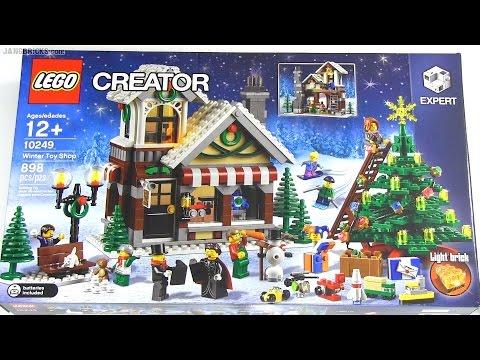 Speedy build: LEGO Creator Winter Toy Shop 10249