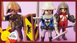 Maxi oeufs surprises Playmobil Garçon - jouets chevaliers -Touni Toys