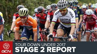 Tour Down Under Stage 2 Race Report