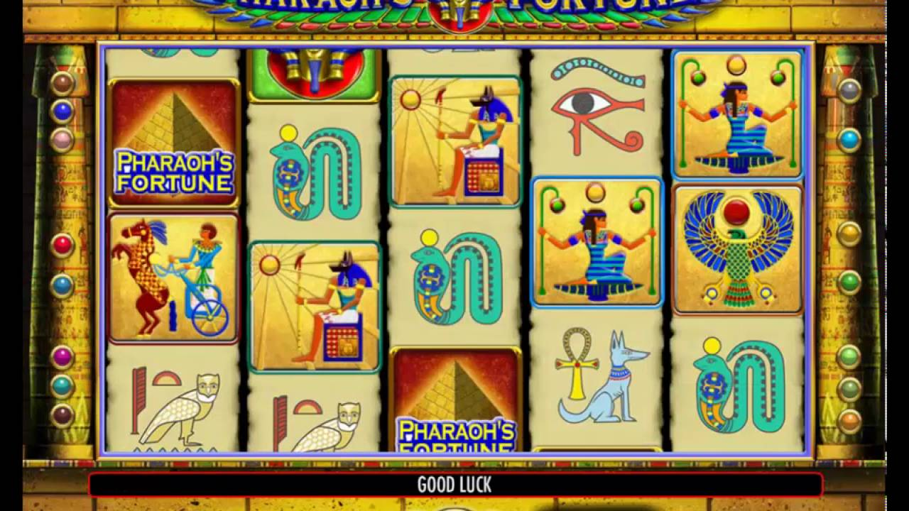 Try The No Download Pharaoh Fortune Slots Today