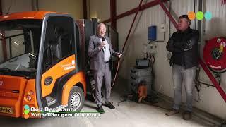Zeezoutbatterij bij gemeentewerf in Wezep officieel in gebruik