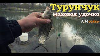 Рыбалка на реке Турунчук Маховая удочка ловим карася на поплавок 21 Марта 2020г