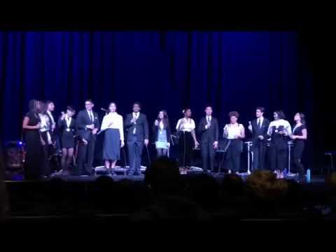 Natomas Charter School Vocal Ensemble Folsom Jazz Festival 2020- Amour T'es Là