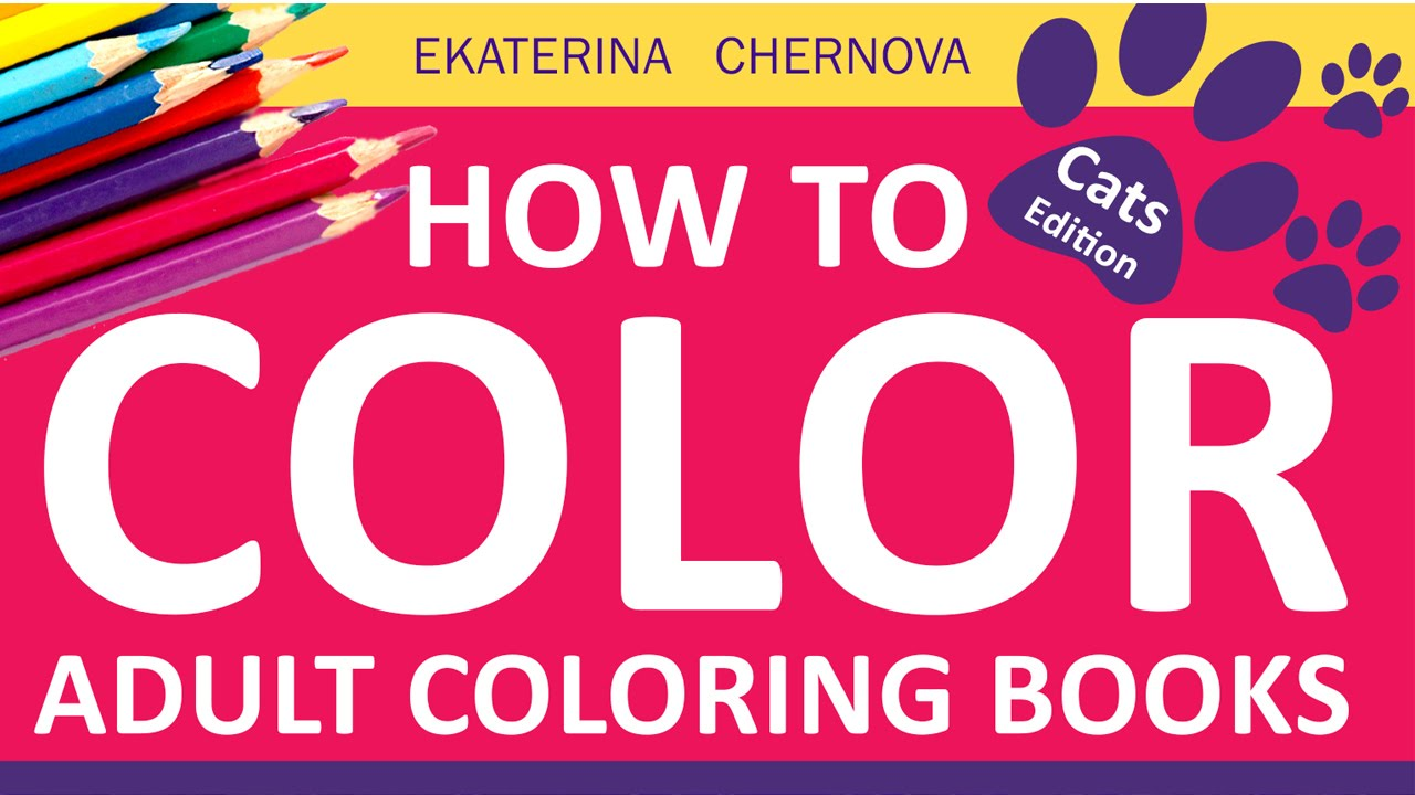 How To Color For Adults