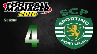 Football Manager 2016 | Sporting CP | Part 4 | Porto!