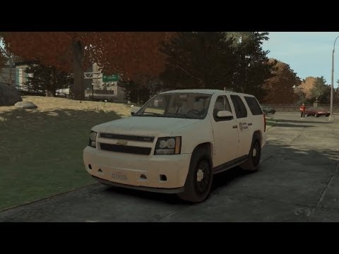 GTA IV:LCPD Mod - حرامي السيارات : مود الشرطة 7# - الجمس الأبيض