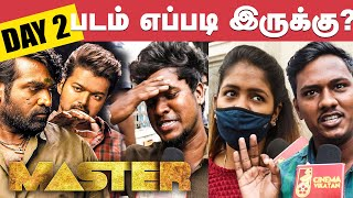 Master 2nd Day Public Review | Master Review | JD Vs Bhavani | Vijay | VJS | Anirudh
