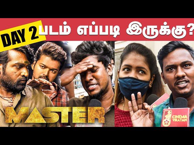 Master 2nd Day Public Review   Master Review   JD Vs Bhavani   Vijay   VJS   Anirudh