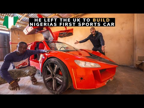 How a Nigerian Left The UK to Build First Sports Car in West Africa.