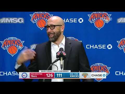 David Fizdale: Mitchell Robinson Continues to Get Better | New York Knicks Postgame