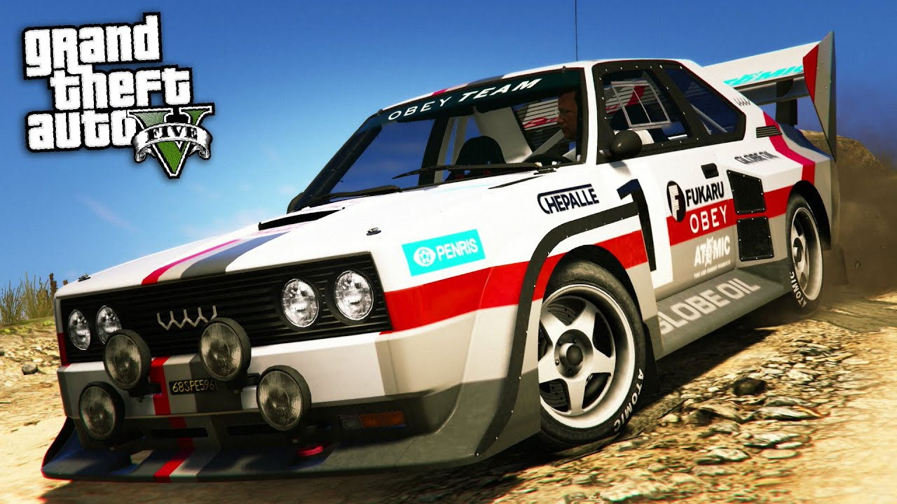 GTA Online: Fully Upgraded OBEY OMNIS Rally Car Build ...
