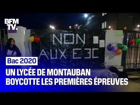 Environ 400 élèves Et Enseignants D'un Lycée De Montauban Ont Boycotté Les Nouvelles épreuves Du Bac