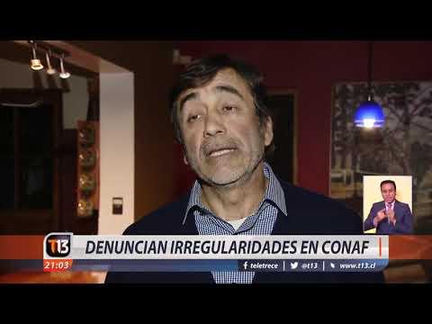 Denuncian irregularidades en Conaf
