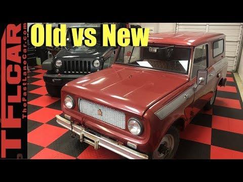 Old vs New: 2017 Jeep Wrangler vs 1961 IH Scout