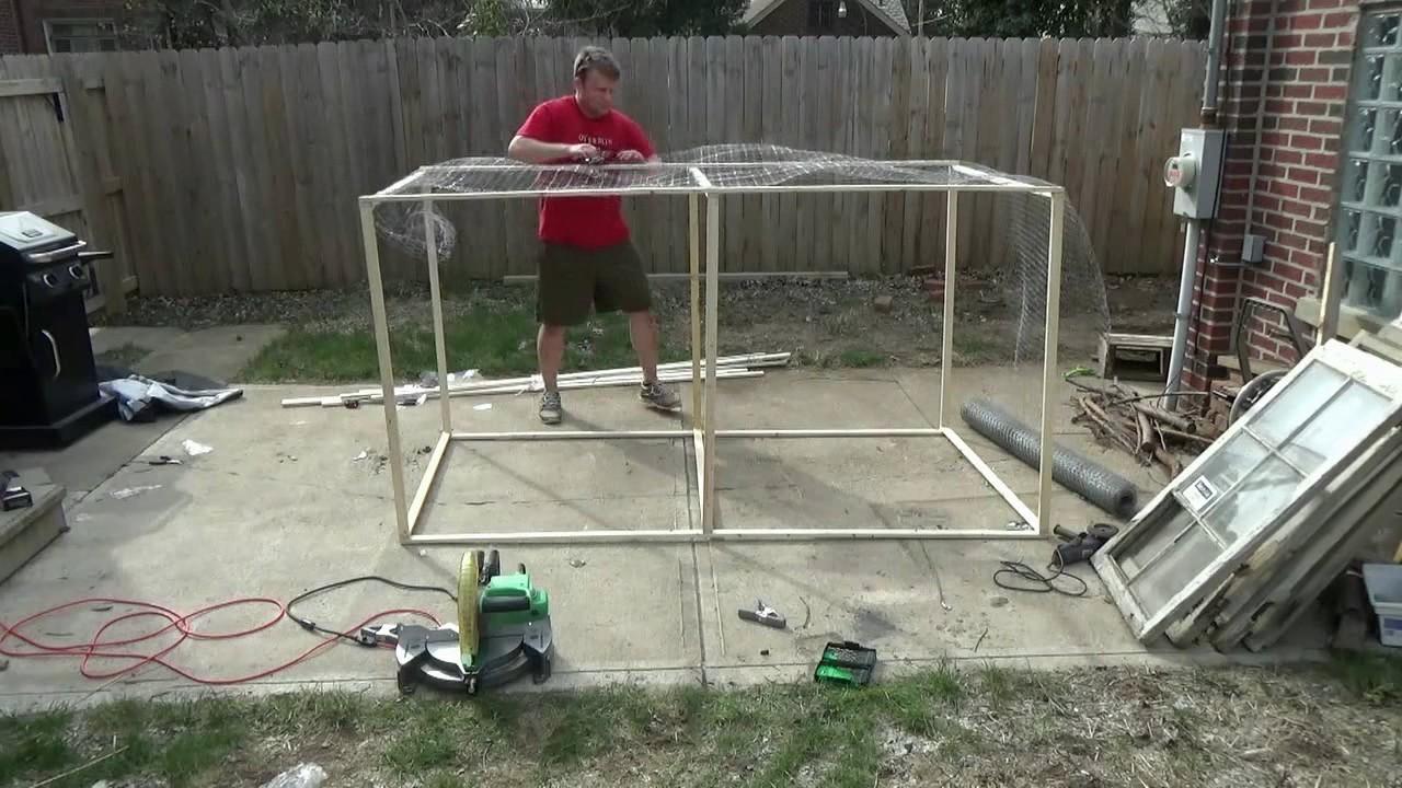 backyard chickens episode 2 making the chicken run tractor