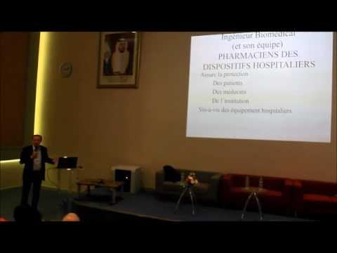 Pr.Pascal Leprince : Le rôle de l'ingénieur biomédicale vu par le chirurgien , ESGB