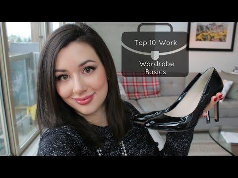 Top 10 Work Wardrobe Basics