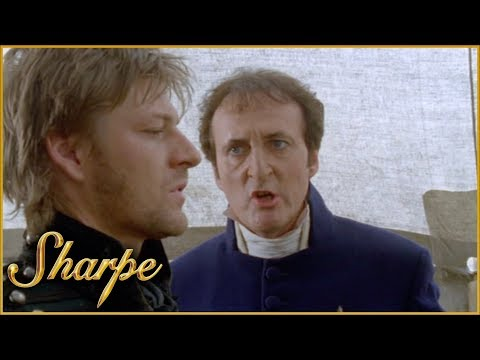 Sharpe Apologises To Lieutenant Ayres | Sharpe
