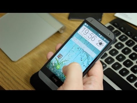 HTC One mini 2 unboxing