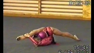 Художественная гимнастика мяч. Выступление с мячом(Забирайте в ПОДАРОК Видеоуроки