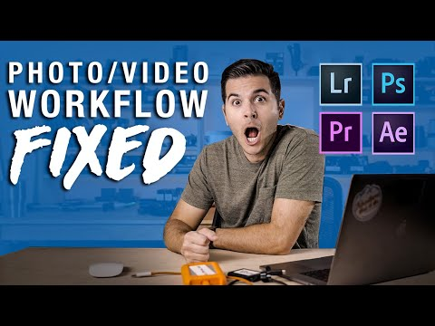 Photography/videography WORKFLOW - You're doing it WRONG! thumbnail