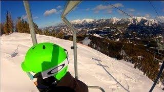 Moonlight Basin and Big Sky Montana Ski Trip Highlights 2013...