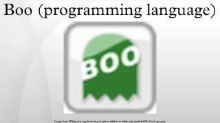 Boo (programming language)