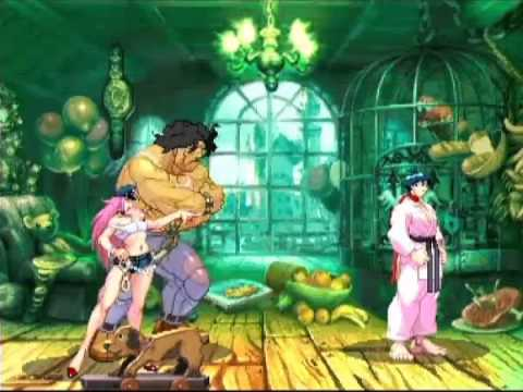 SFIII: 3rd Strike - Hugo [Tanaka] vs Makoto [Tominaga]