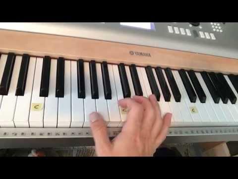 """Girl Crush"" - Easy Piano Tutorial - (Little Big Town)"