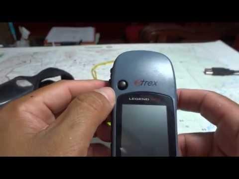 USO DEL GPS GARMIN ETREX LEGEND HCx video 1